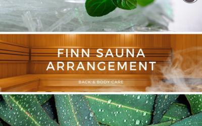 Finn Sauna arrangement